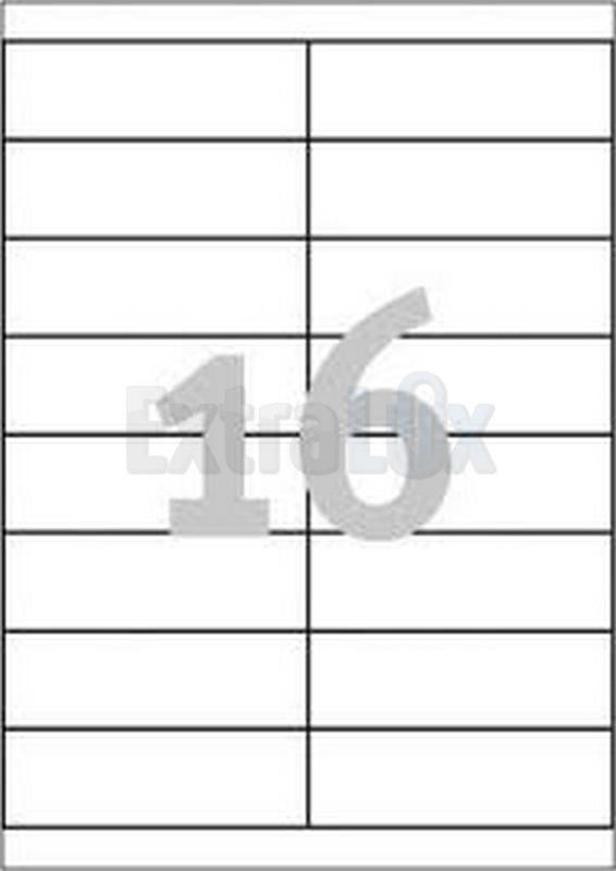 ETIKETE AVERY ZWECKFORM 3665 105X33,8 1/100