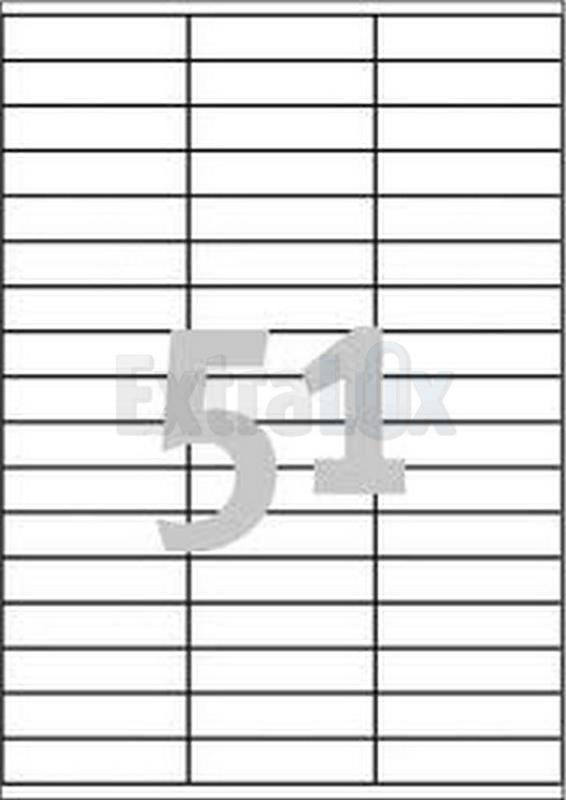 ETIKETE AVERY ZWECKFORM 3420 70X16,9 1/100