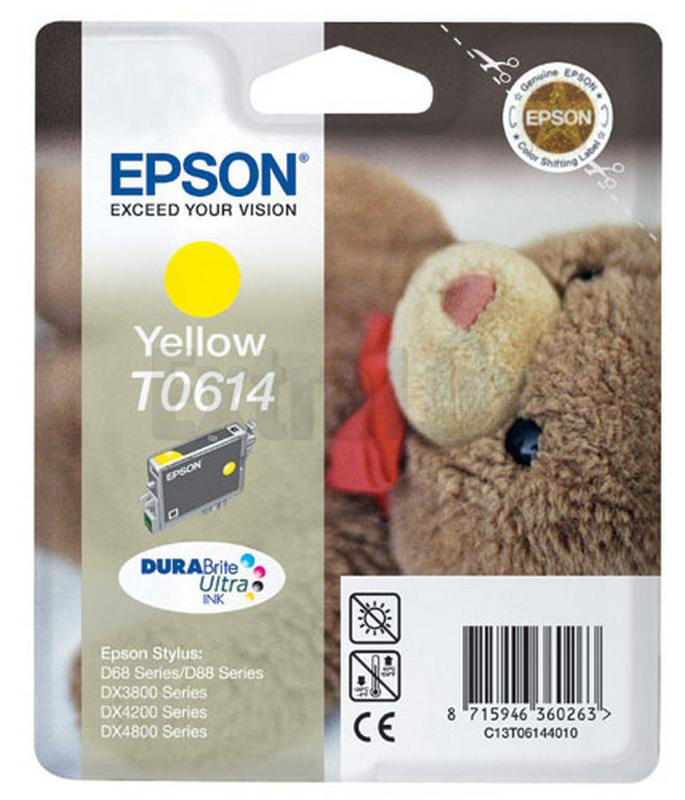 EPSON ČRNILO C13T06144010 YELLOW ZA D68/88/3850/4850