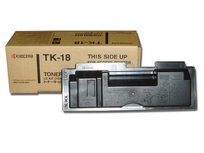 KYOCERA TONER TK-18 BLACK ZA FS-1020D/1018/1118