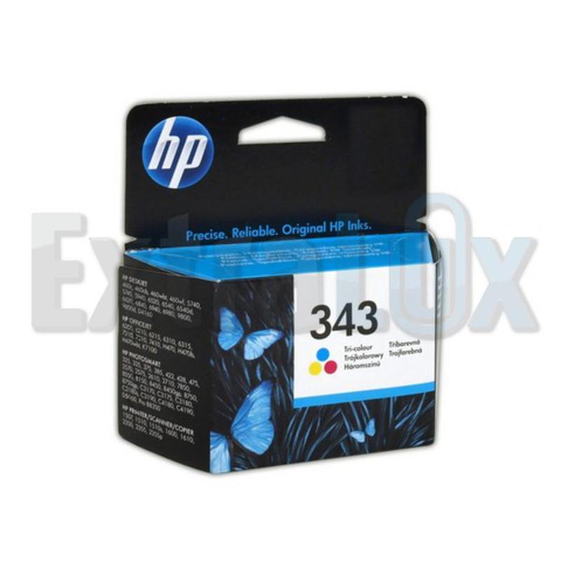 HP ČRNILO C8766E ŠT.343 COLOR ZA DJ 5740,6540,6840,C31800,C41800