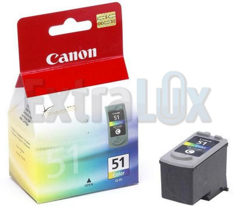 CANON ČRNILO CL-51 ZA PIXMA IP2200/6210D/6220D, MP450/150/160/170 COLOR