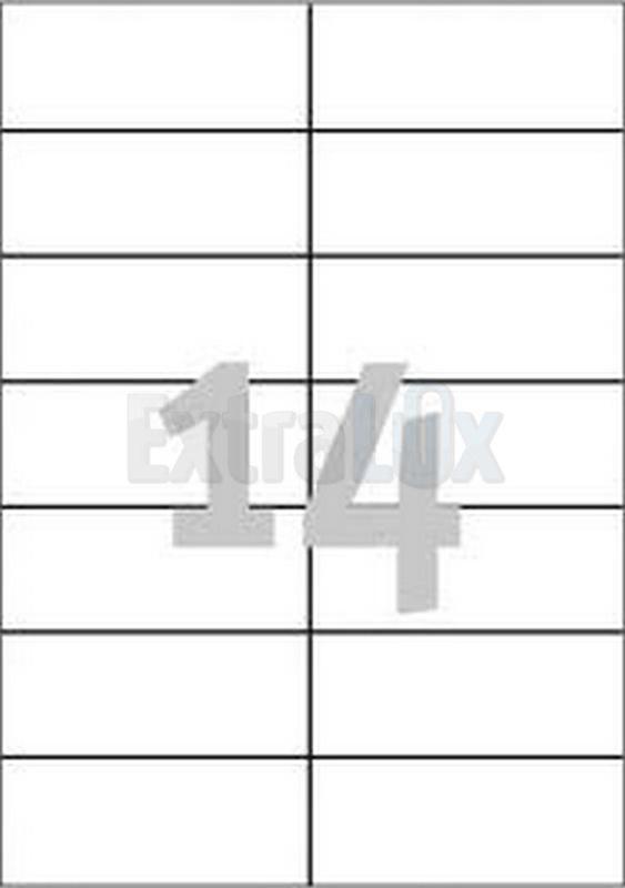 ETIKETE AVERY ZWECKFORM 3653 105X42,3 1/100