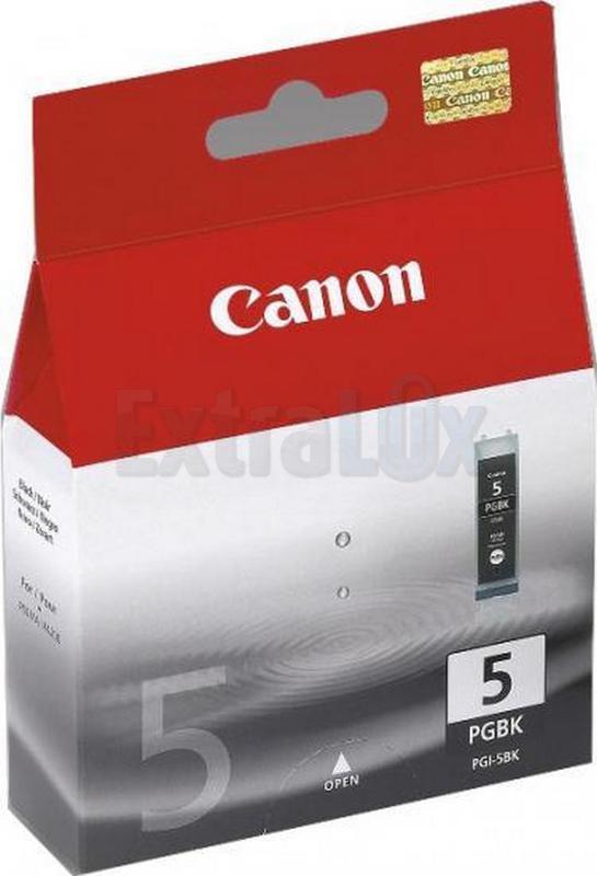 CANON ČRNILO PGI-5 BLACK ZA IP3300/4200/4300/5200/5200R/5300