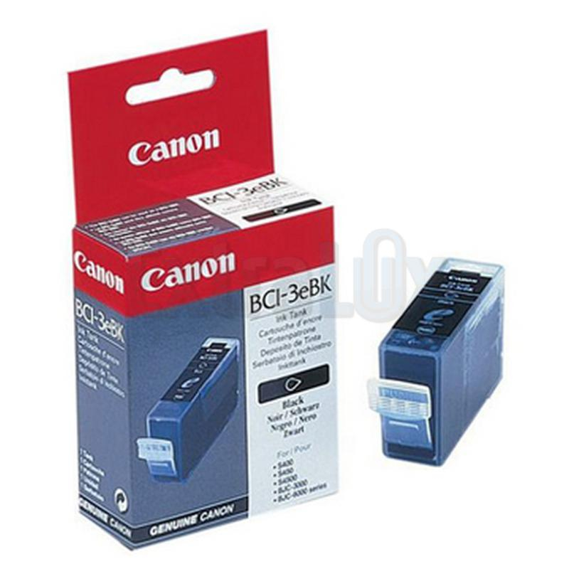 CANON ČRNILO BCI-3E BLACK ZA I550/560/850/860/865, I6100/6500