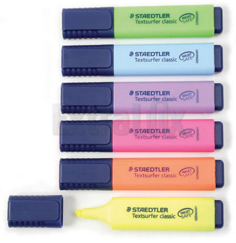 TEXT MARKER STAEDTLER 364 WP4 TOP STAR 1/4