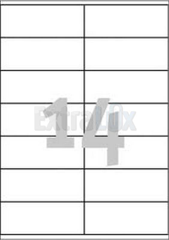 ETIKETE AVERY ZWECKFORM 3477 105X41 1/100