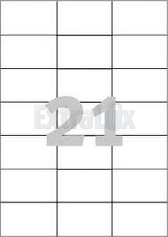 ETIKETE AVERY ZWECKFORM 3652 70X42,3 1/100