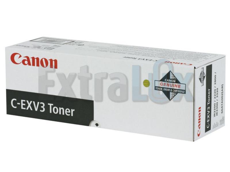 CANON TONER C-EXV 3/GPR-6 BLACK ZA IR22/28/33 (6647A002AA)