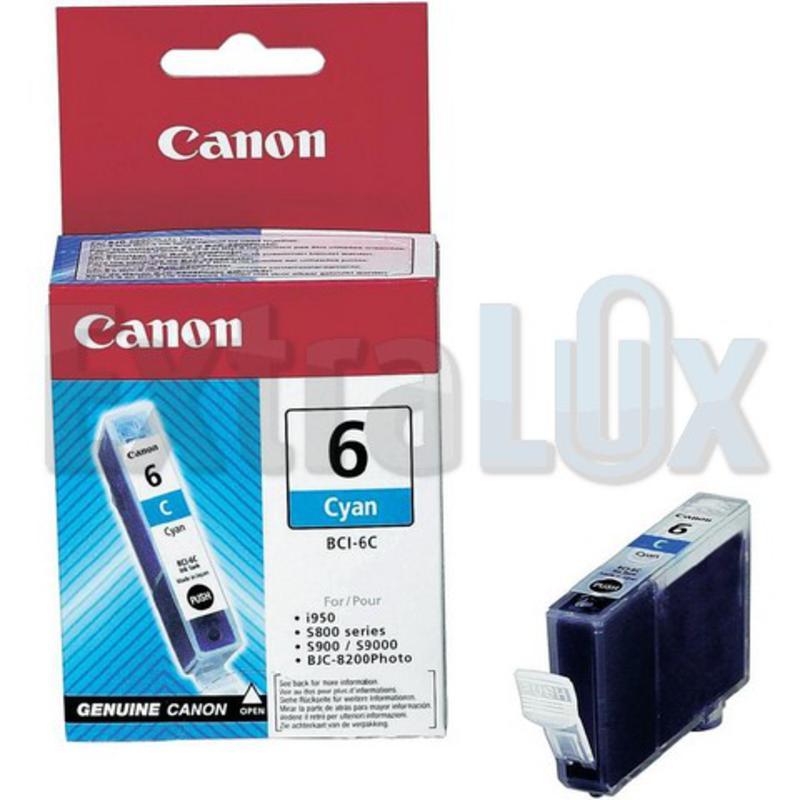 CANON ČRNILO BCI-6 CYAN ZA I950, S800/900/9000, BJC8200PHOTO