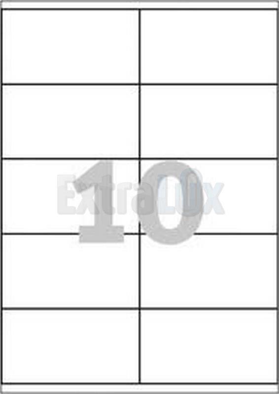 ETIKETE AVERY ZWECKFORM 3425 105X57 1/100