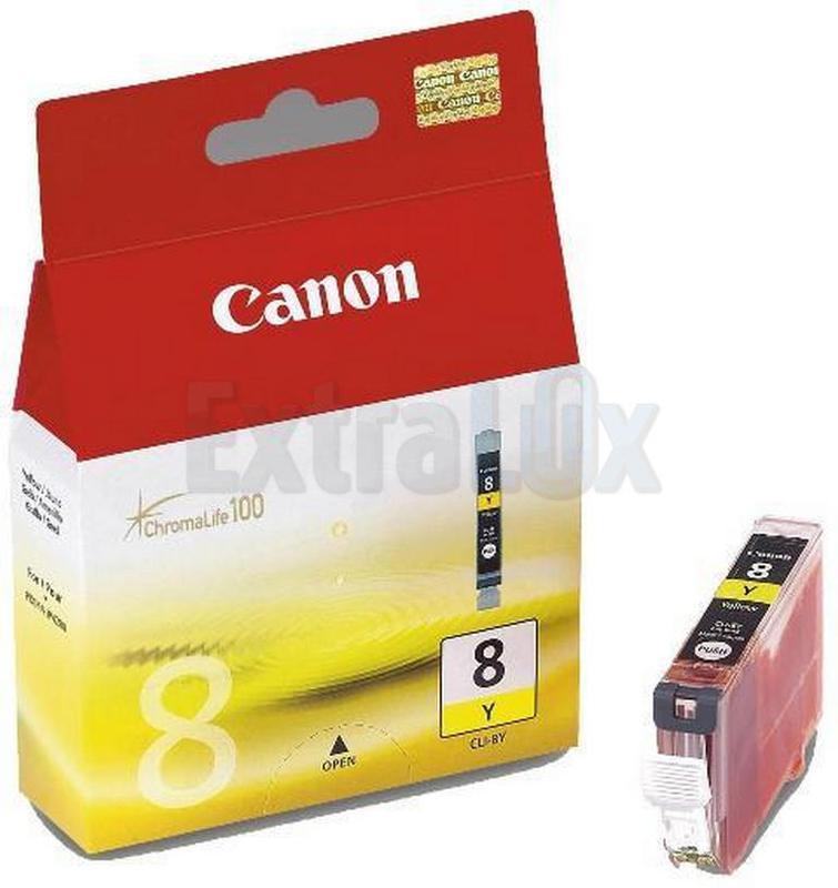 CANON ČRNILO CLI-8Y YELLOW ZA IP3300/4200/4300/5200/5300/6600D/6700D