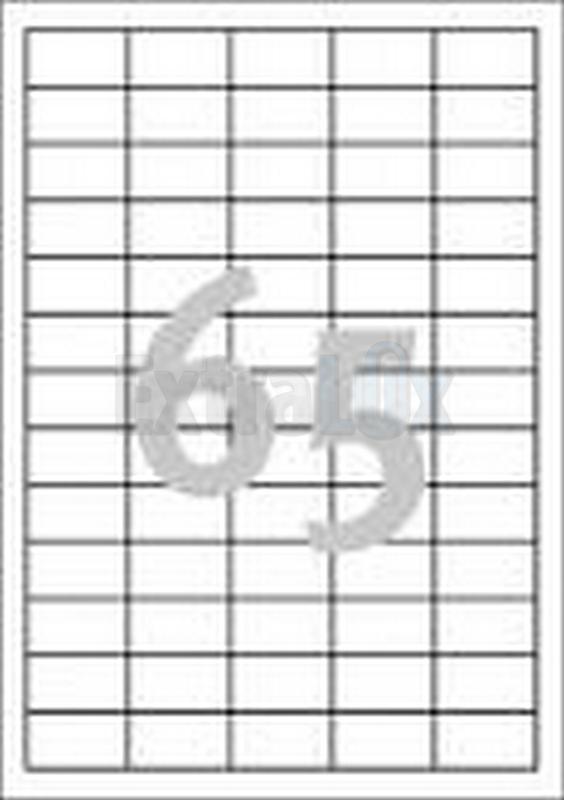 ETIKETE AVERY ZWECKFORM 3666 38X21,2 1/100