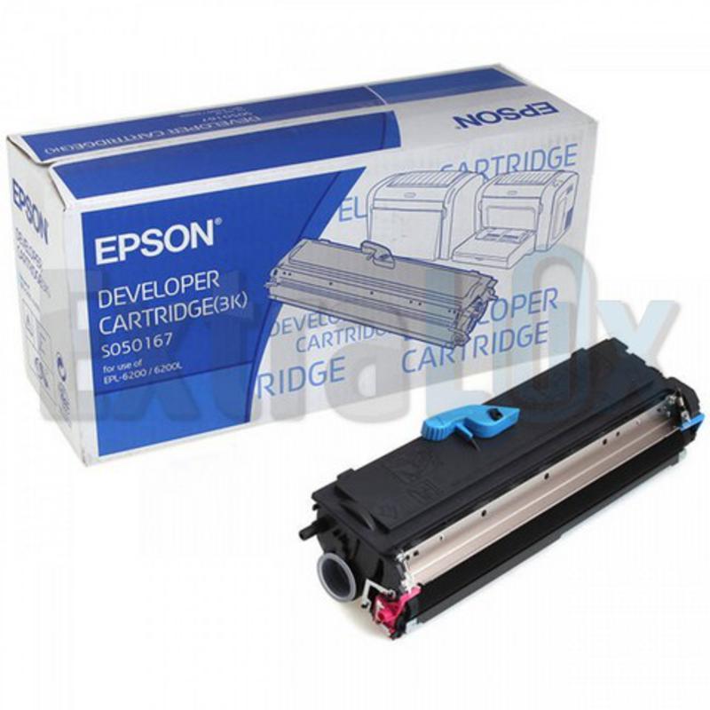 EPSON TONER C13S050167 BLACK ZA EPL-6200/6200L