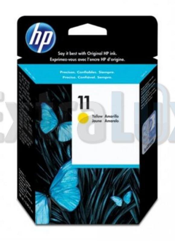 HP ČRNILO C4838A ŠT.11 YELLOW ZA DJ 2200/2250 CP1700