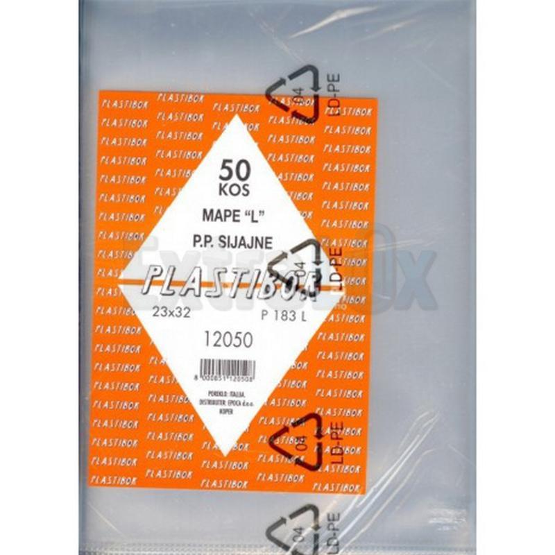 MAPA L PP A4 12050 230X320 130MIC PLASTIBOR 12050
