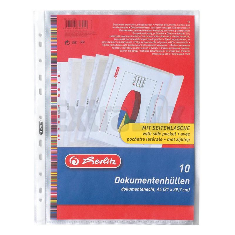 MAPA VLOŽNA IBM A4 Z ZAVIHKOM HERLITZ 5896204 1/1