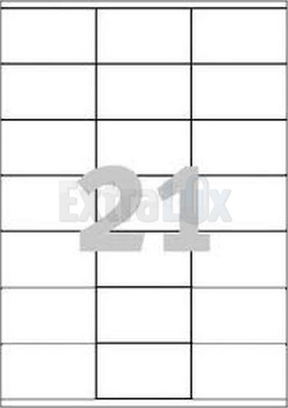 ETIKETE AVERY ZWECKFORM 3481 70X41 1/100