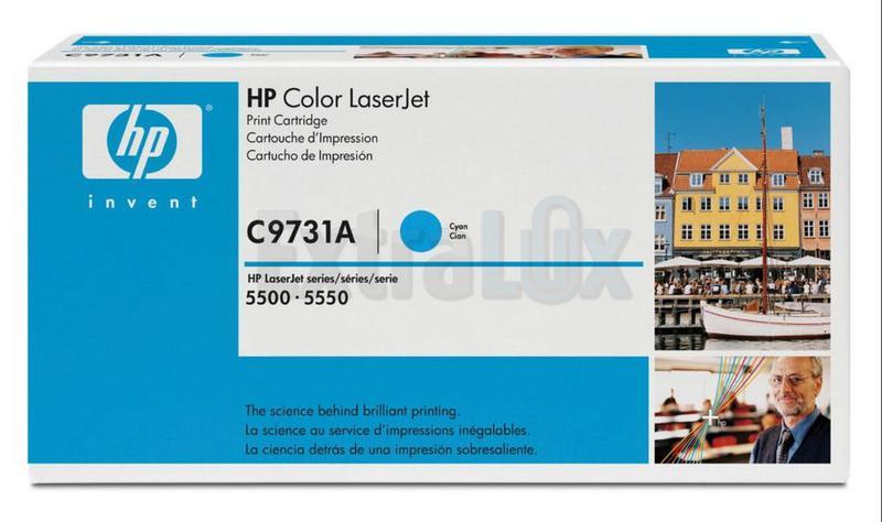 HP TONER C9731A ŠT.645A CYAN ZA LJ 5500,5550