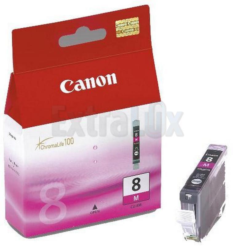 CANON ČRNILO CLI-8M MAGENTA ZA IP3300/4200/4300/5200/5300/6600D/6700D