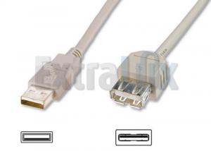 KABEL USB PODALJŠEK  A-A 1,8M
