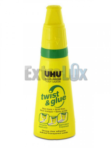 LEPILO UHU TWIST&GLUE 35ML BREZ TOPIL zelen
