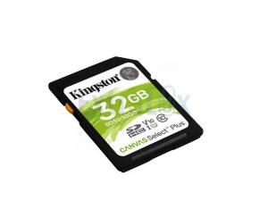 KARTICA SPOMINSKA KINGSTON CANVAS SELECT PLUS SDHC 32GB 100MB/S UHS-1/C10/U1 V10 (148386)