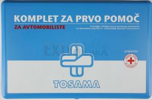 PRVA POMOČ TOSAMA 17523 ZA AVTOMOBILISTE SET 1/43