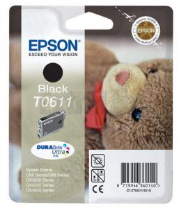 EPSON ČRNILO C13T06114010 BLACK ZA D68/88/3850/4850