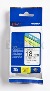 TRAK BROTHER P-TOUCH TZE-241 18MM ČRNA NA BELEM