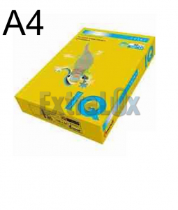 FOTOKOPIRNI PAPIR A4 160G IQ COLOR RUMEN YE23-PASTEL 1/250