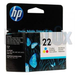 HP ČRNILO C9352A ŠT.22 COLOR ZA DJ 3910,3920,3930