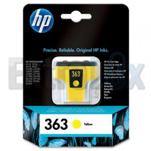 HP ČRNILO C8773E ŠT.363 YELLOW ZA PS 8250,3210,3310