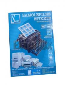 ETIKETE SMAK S-97 192X59 ZA REGISTRATORJE 1/100