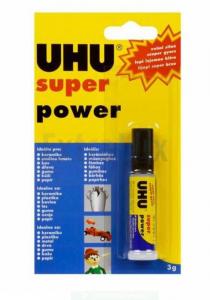 LEPILO UHU SEKUNDNO SUPER POWER PIPETE 3G
