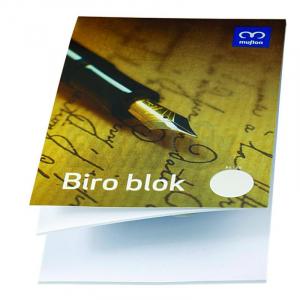 BLOK STENOGRAM A5 50L BREZČRTNI ART.740156