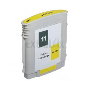 HP K ČRNILO C4838A ŠT. 11 YELLOW ZA DJ 2200/2250 CP1700 KOMPATIBILNO