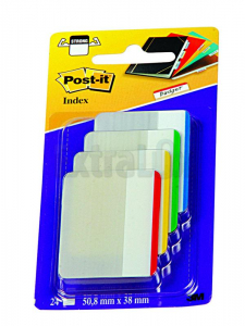 OZNAČEVALEC INDEX  POST-IT 3M 686F-1EU 50,8X38MM 4X6L SUPER MOČNI