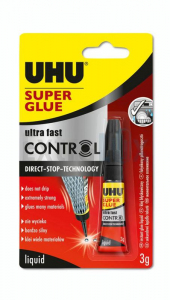 LEPILO UHU SUPER GLUE CONTROL SEKUNDNO ULTRA FAST 3G