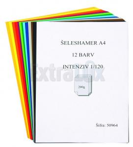 ŠELESHAMER A4 FAVINI MIX INTENZIV 12 BARV FAV-00028 1/120