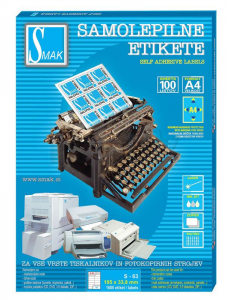ETIKETE SMAK S-63 105X33,8 1/100