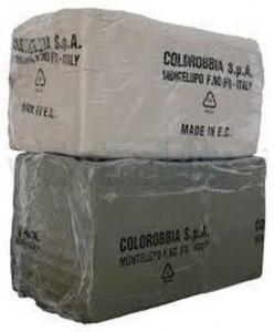 GLINA COLOROBBIA  MAJOLIKA 12,5 KG ART. 0263