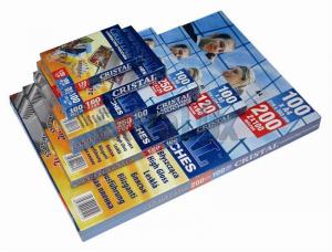 ŽEPKI ZA PLASTIFICIRANJE A4 (303X216) 100MIC MAT/SIJAJ