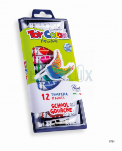 TEMPERA TOY COLOR ART. 721 PVC EMBALAŽA 7,5ML 1/12