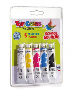 TEMPERA TOY COLOR ART. 726 MIX 5X12ML BLISTER