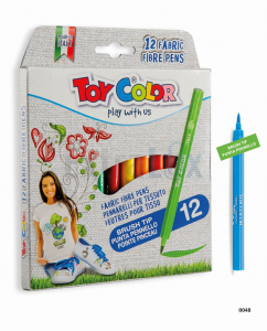 FLOMASTRI TOY COLOR ZA TEKSTIL ART. 048 1/12