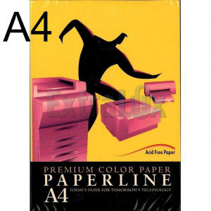 FOTOKOPIRNI PAPIR A4 80G PAPERLINE ZLAT IT200 1/500
