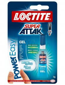 LEPILO LOCTITE SUPER ATTAK SEKUNDNO POWER GEL 3G