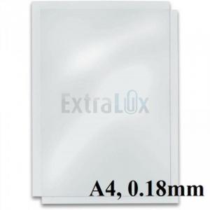 PLATNICA PVC A4 PROZORNA 0,18MM 1/100