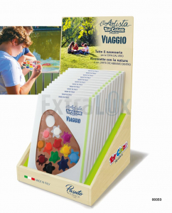VODENE BARVICE TOY COLOR SET VIAGGIO ART. 0353
